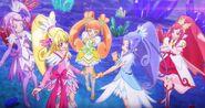 Pelicula en Dokidoki! Precure All Stars Memories