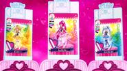 Cartas Bonitas completas de Honey, Lovely & Princess en el Bonito Espejo Cambio