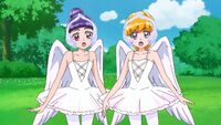 Mirai and Riko are now ballet swans