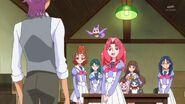 35.Towa diciendole a Kanata que ella es su hermana