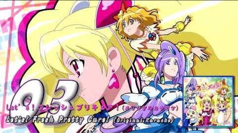 Fresh Pretty Cure! OP&ED Theme Single Track03
