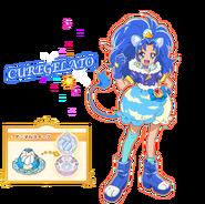 Perfil de Cure Gelato (TV Asahi)