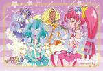 Pretty Cure Store STPC Sendai sale illustration