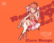 Cartel Cure Rouge en All Stars DX3