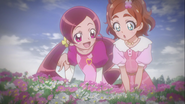 Foto de las chicas de flores