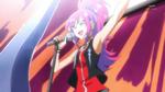 KKPCALM42-Misaki singing on stage