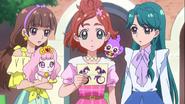 Las Princess reciben la invitación al Reino Harmonia