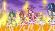 Pretty cure 5 cure fleuret DX 2
