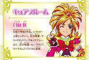 Cartel de Cure Bloom en Pretty Cure All Stars New Stage 3