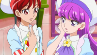 KKPCALM10 Akira Yukari wonder why they're asked to choose fruits