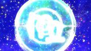 Rainbow Splash Virgo symbol