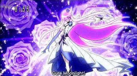 Heartcatch Precure! Cure Moonlight Transformation