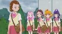 Mirai and co appear to confort Mayumi