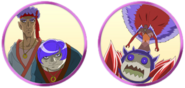 Isohgin and Yadokhan faces