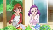 Rin y Kurumi Precure5 Full Throtle