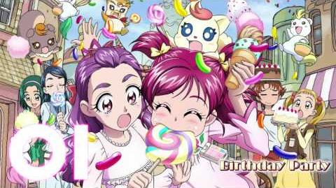 Yes! Precure 5 Go Go! the Movie Theme Song Track01