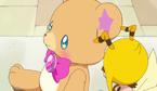 (15) Chikurun seeing Mofurun watching the lesson