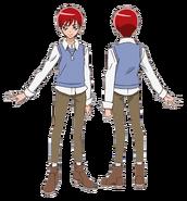 Akira atuendo pelicula sin abrigo