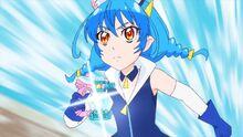 STPC23 Yuni uses her Rainbow Perfume
