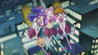 Kotoha hugs Mirai and Riko mid flight