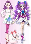 Kurumi Mimino / Milky Rose