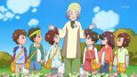 Mochidzuki with the children
