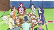 Todos cenando juntos