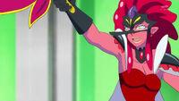 STPC29 Tenjo orders her Nottorei to attack Kuku