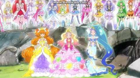 Primavera - Precure Rainbow Tornado II Go!Princess