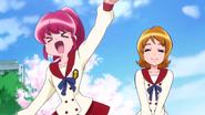 Primera aparición de megumi y yuuko