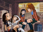 Natsuko kyoko despiertan ruinas