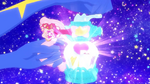 Rainbow Splash Cosmo charges the perfume