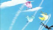 Dark Pretty Cure impacta a las chicas con su velocidad