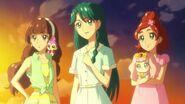 Las chicas al final del episodio