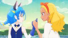 STPC23 Elena takes Yuni's hand