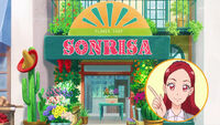 STPC14 Kaede says that Sonrisa means Smile