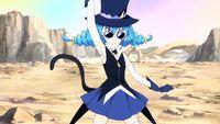STPC19 Blue Cat uses her smoke bomb