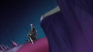 Dark Cure se presenta ante Sabaku