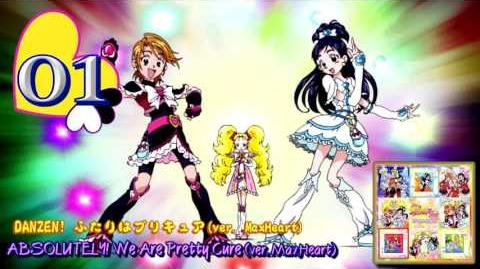 Futari wa Pretty Cure Max♡Heart Vocal BEST!! Track01
