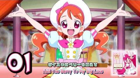 Kirakira☆Precure à la Mode sweet etude 1 Cure Whip Track01