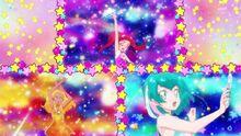 STPC Color Charge Hikaru Lala Elena Trio Transformation