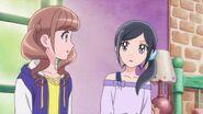 Chiyu y Hinata se preocupan de la situación