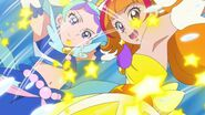 Twinkle y Mermaid atacando