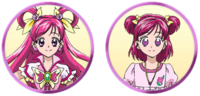 Yes! Pretty Cure 5 GoGo! Nozomi and Cure Dream faces