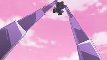 HuPC02-Oshimaida using its crane arms