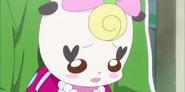 Ribbon pidiendo disculpas a Megumi por hberla metido en todo el sunto