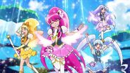 HappinessCharge Pretty Cure en Hugtto