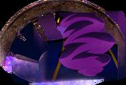 Perfil de Colmillo Negro en la pelicula