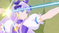 STPC21 Selene fires her arrow at the Nottorei