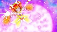 Falda shotting star de Twinkle extendiendose